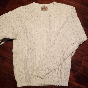 Woolrich Chunky Sweater USA Made - 100% Cotton